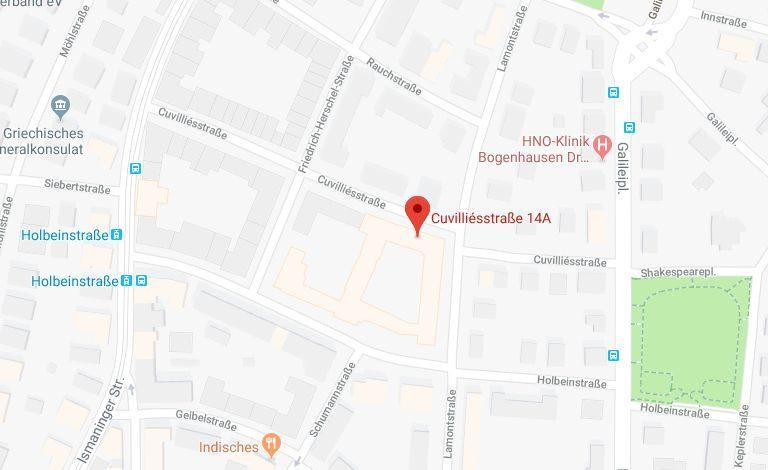 Adresse KB-Vermögensverwaltung GmbH, Cuvilliesstr. 14A, 81679 München